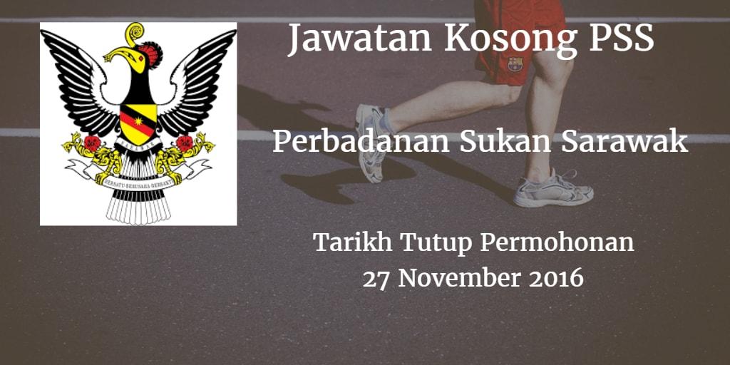 Jawatan Kosong PSS 27 November 2016
