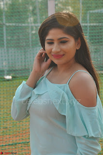 Madhulagna Das looks super cute in White Shorts and Transparent Top 56.JPG