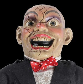 Horror Movie CREEPY CHARLIE DOLL Scary Haunted House Prop-SPEAKS