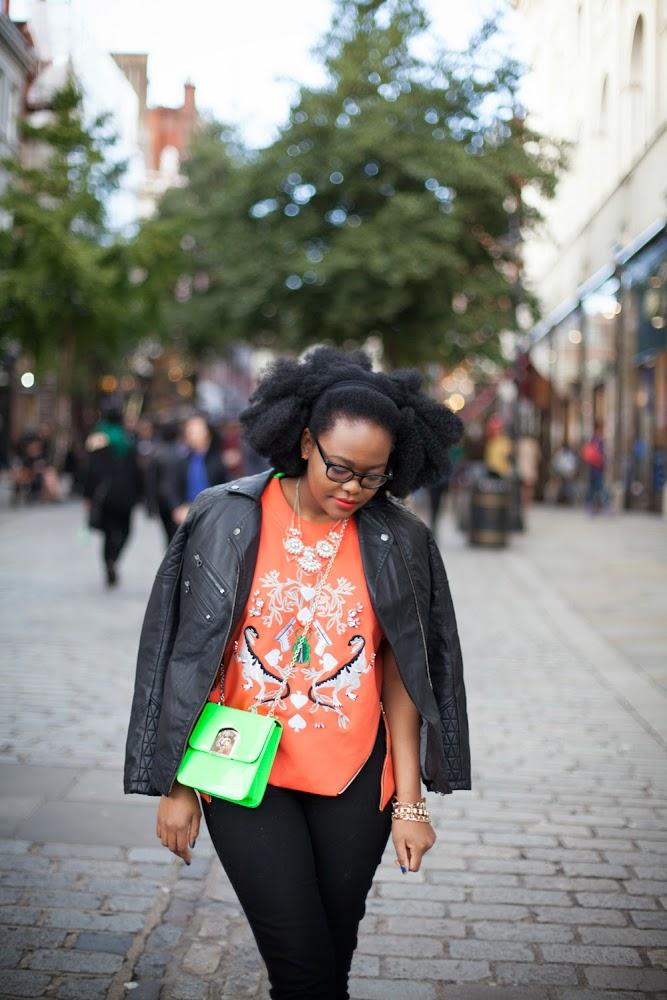 Afro Hair blogger