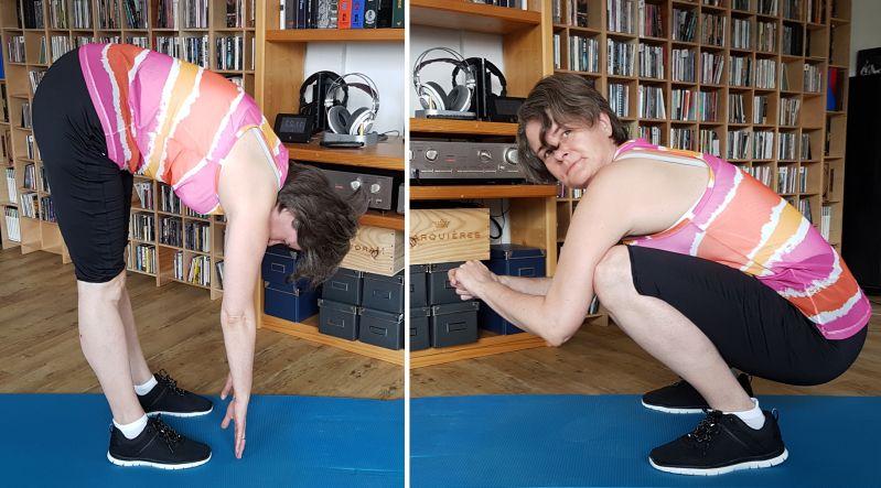 Body-Screening: Bewegung ist alles - Übung 1 und 2