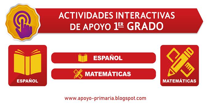 Actividades educativas interactivas para primero de primaria