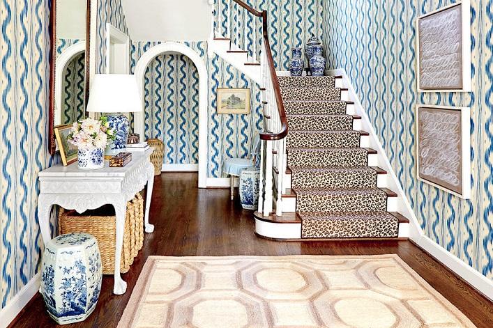 A designer's classically chic Georgian home!