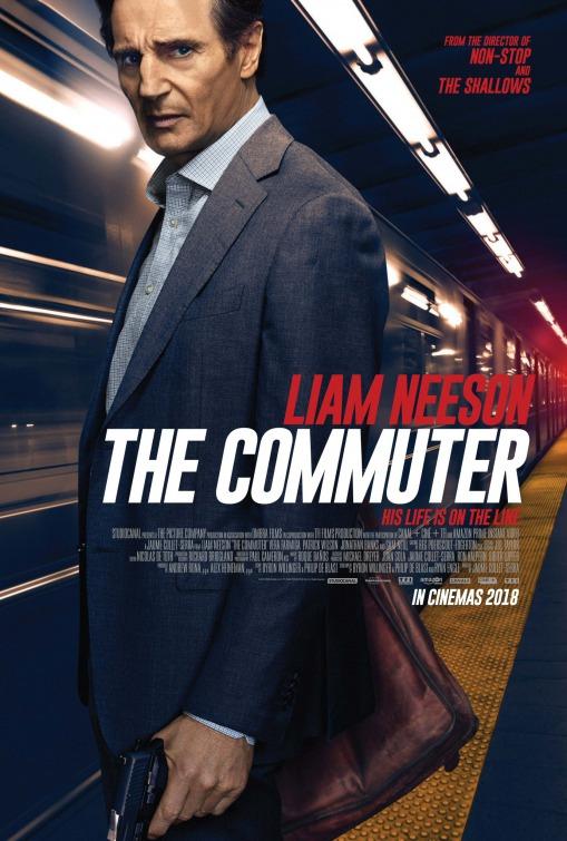 Hasil gambar untuk film The Commuter (2018)