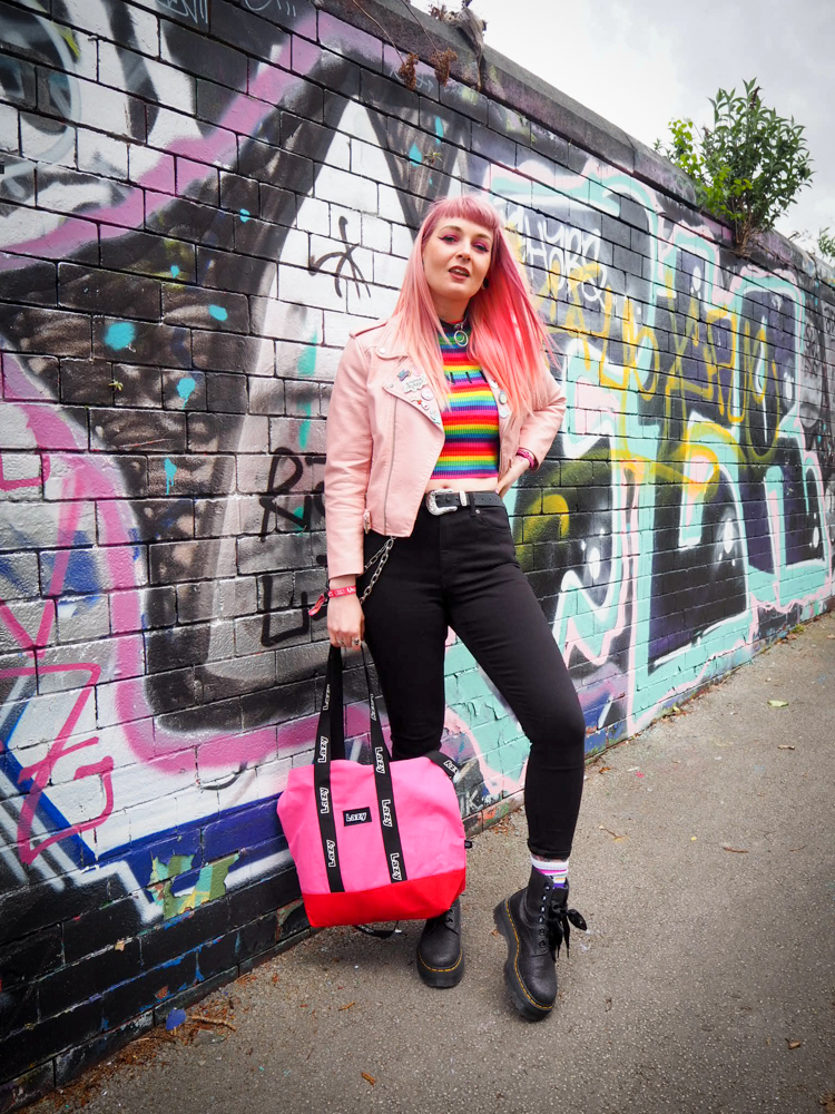 Alternative Fashion Blogger Foxxtailz at Live at Leeds