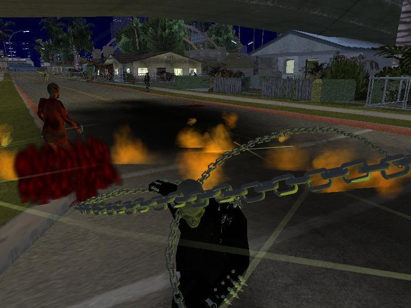 Ghost Rider Mod For GTA San Adreas Free Download - GTA Mod Mafia