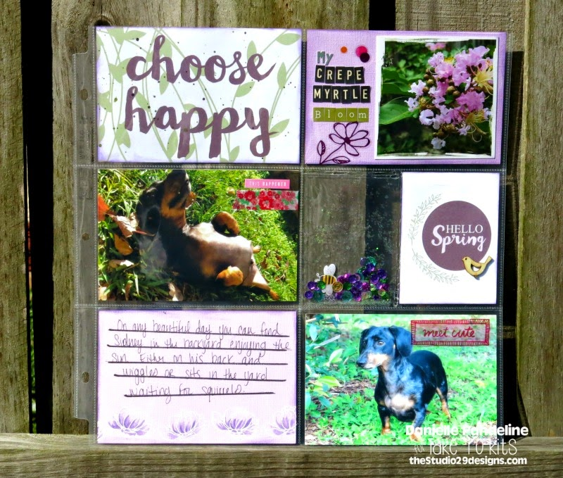 Hello Spring | Featuring Studio 29 Designs | Created by Danielle Pandeline