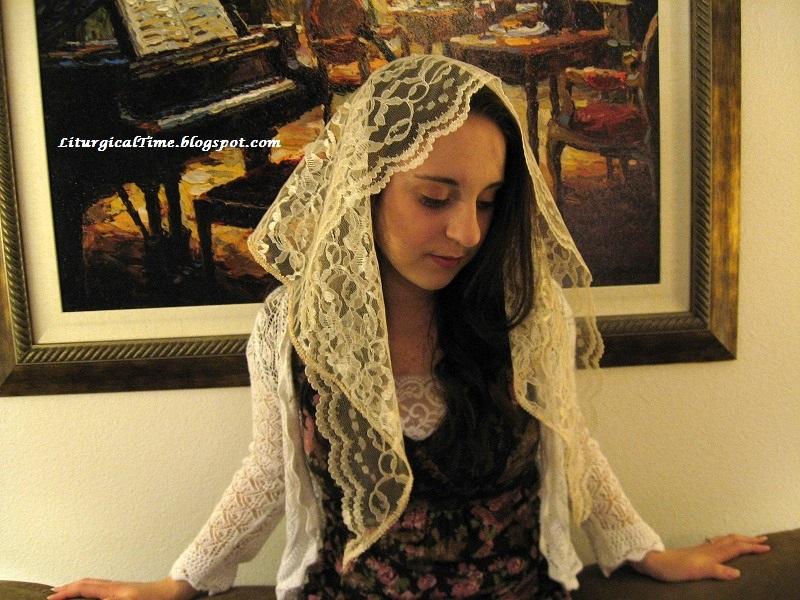 Catholic women veil