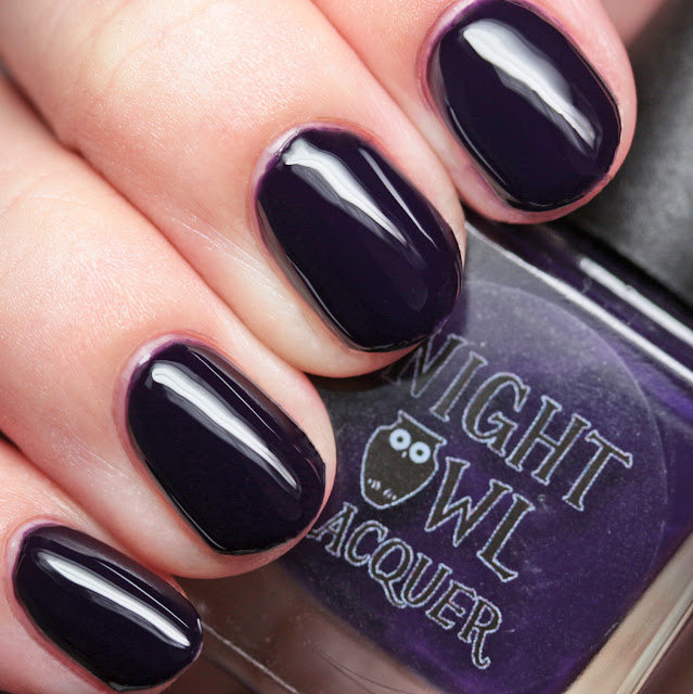 Night Owl Lacquer Cackle Much?!