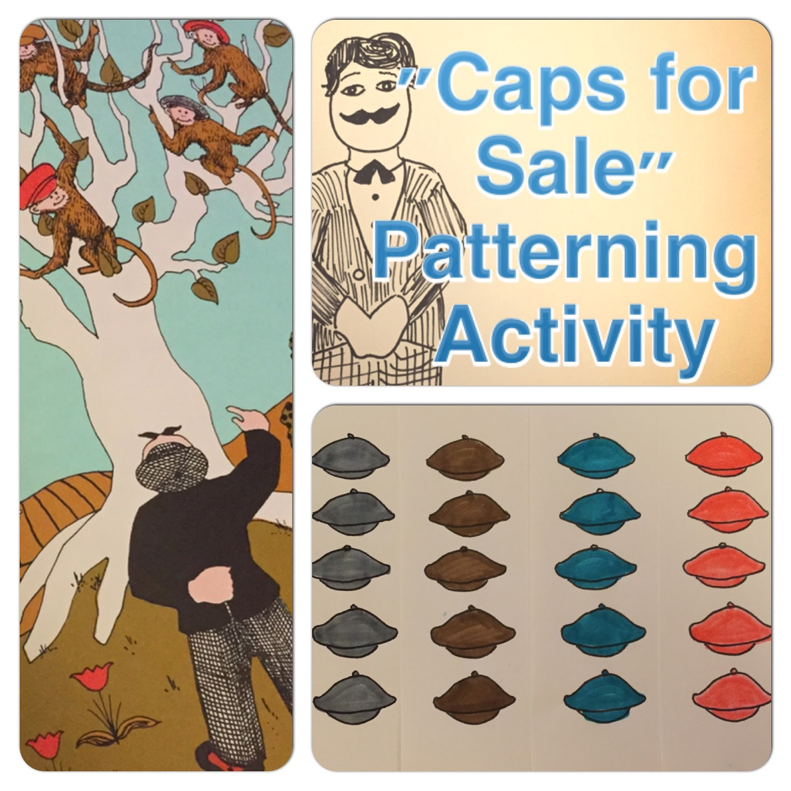 My Life In Picture Books Caps For Sale By Esphyr