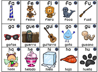 3 silabarios para niños de preescolar para imprimir 1