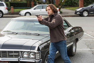 "Jared Padalecki as Sam Winchester in Supernatural 13x12 ""Various and Sundry Villains"""