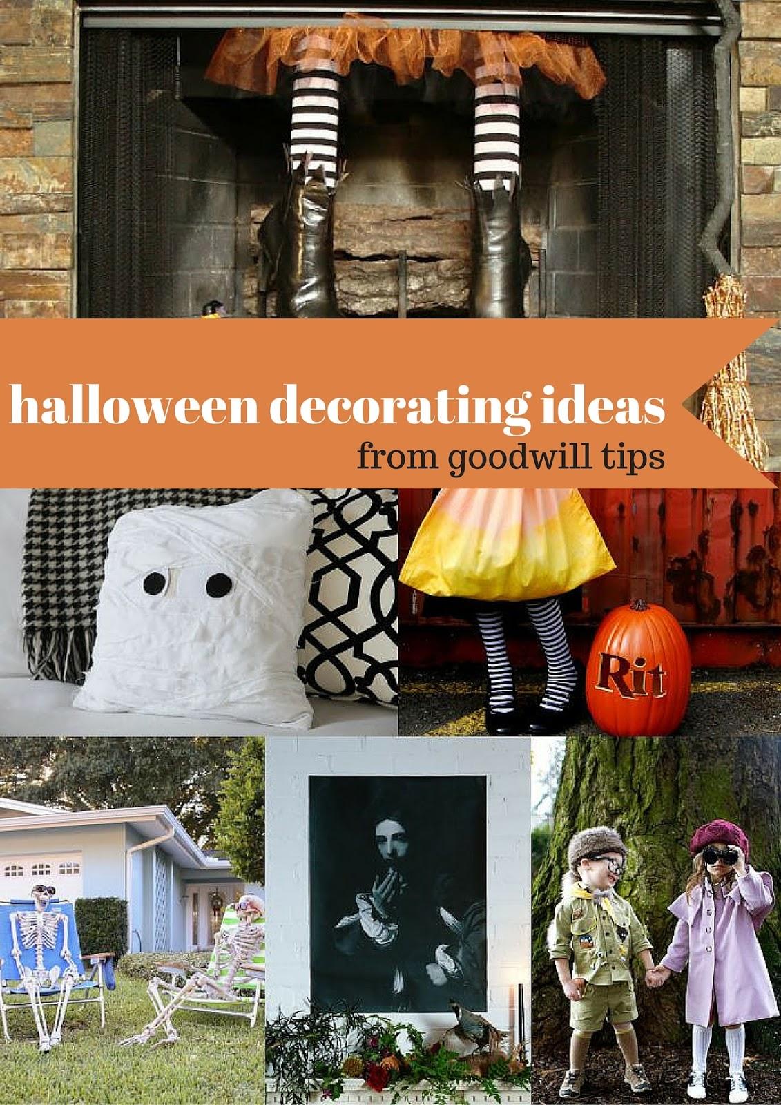Goodwill Tips: 6 Festive Halloween Decorating Ideas
