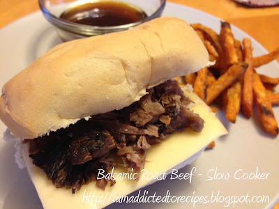 Balsamic Roast Beef | Addicted to Recipes