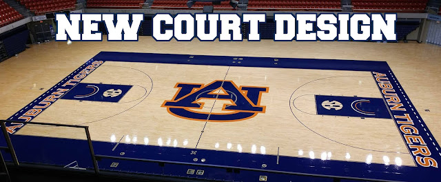 2016 Auburn basketball court