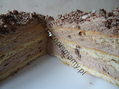 """Ciasto bez pieczenia """"Stefanka budyniowa"""""""