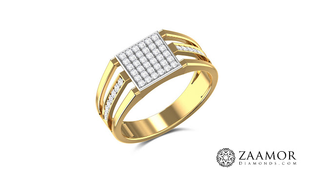 Oriella Diamond Men's Ring