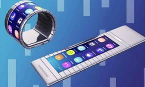 World first bendable smartphone