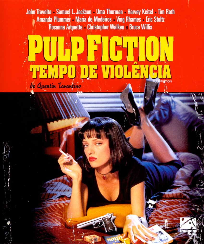 Pulp Fiction: Tempo de Violência Torrent - Blu-ray Rip 720p e 1080p Dual Áudio (1995)
