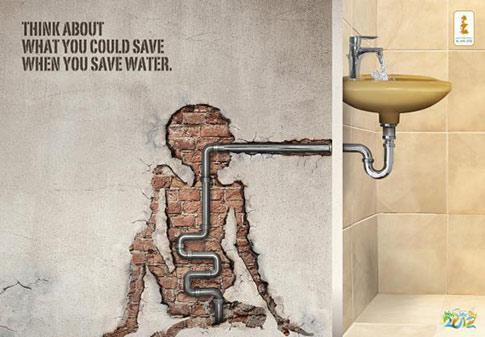 torneira, campanha, água, dia mundial