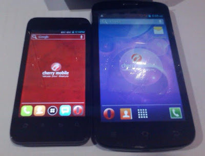 Cherry Mobile Flare vs Cherry Mobile Omega