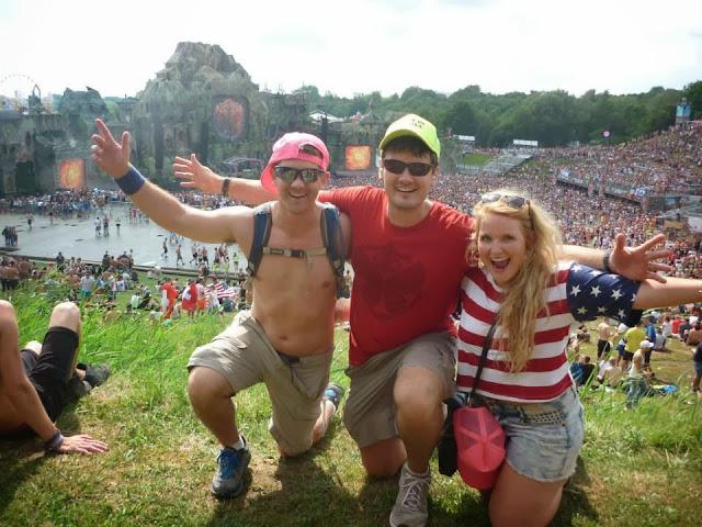 Tomorrowland 2013 mainstage