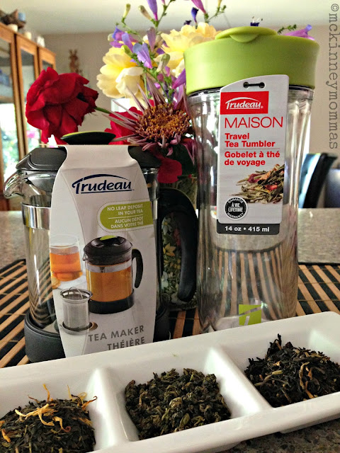 mckinney mommas, teaware, loose leaf tea, roses, trudeaukitchen