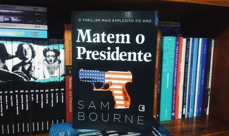 [RESENHA #604] MATEM O PRESIDENTE  - SAM BOURNE
