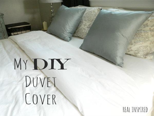 Real Inspired: My DIY Duvet Cover