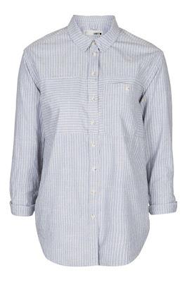Moto Stripe Oversized Shirt, $68 from Topshop