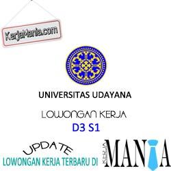 Lowongan Kerja Universitas Udayana