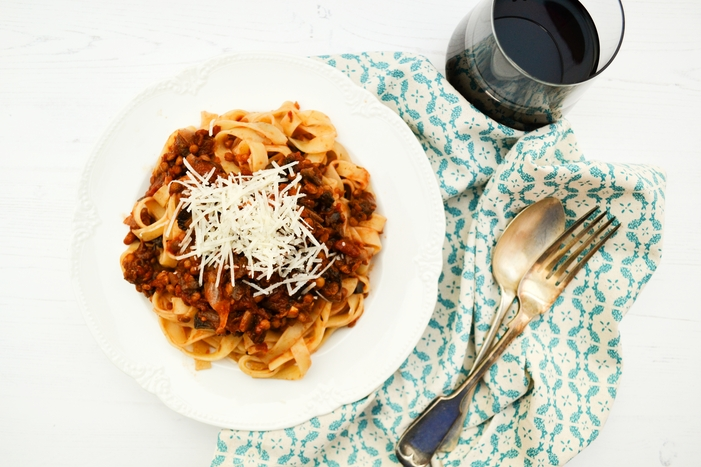 Rich Mushroom and Lentil Ragu Recipe