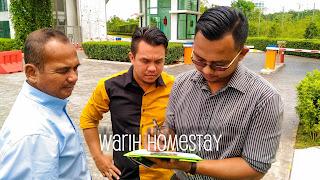Warih-Homestay-Dr-Shahlan-Mengisi-Borang-Survey