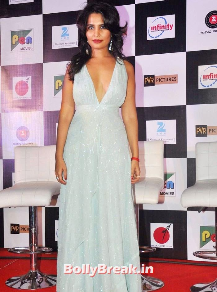 Rachna Shah, Pics from 'Rang Rasiya' Music Launch