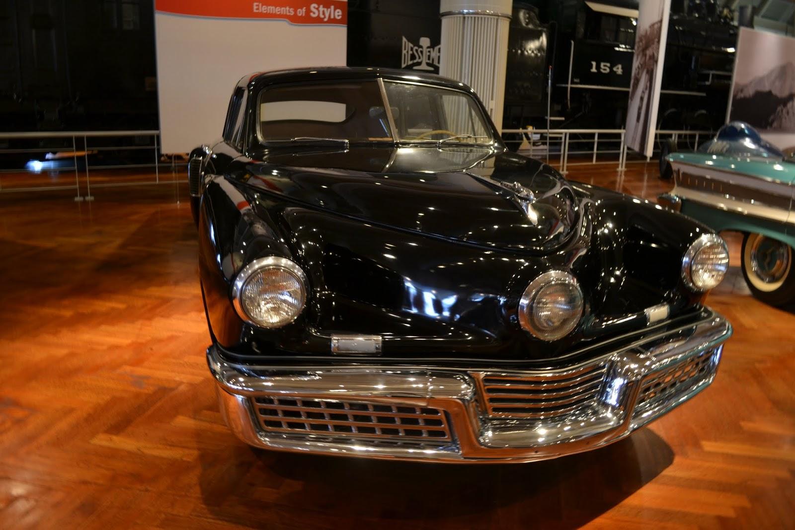 1948 Tucker 48. Музей Генри Форда. Дирборн, Мичиган (Henry Ford Museum, Dearborn, MI)