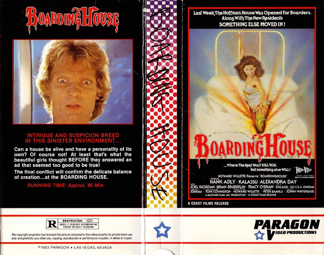 boardinghouse VHS cover