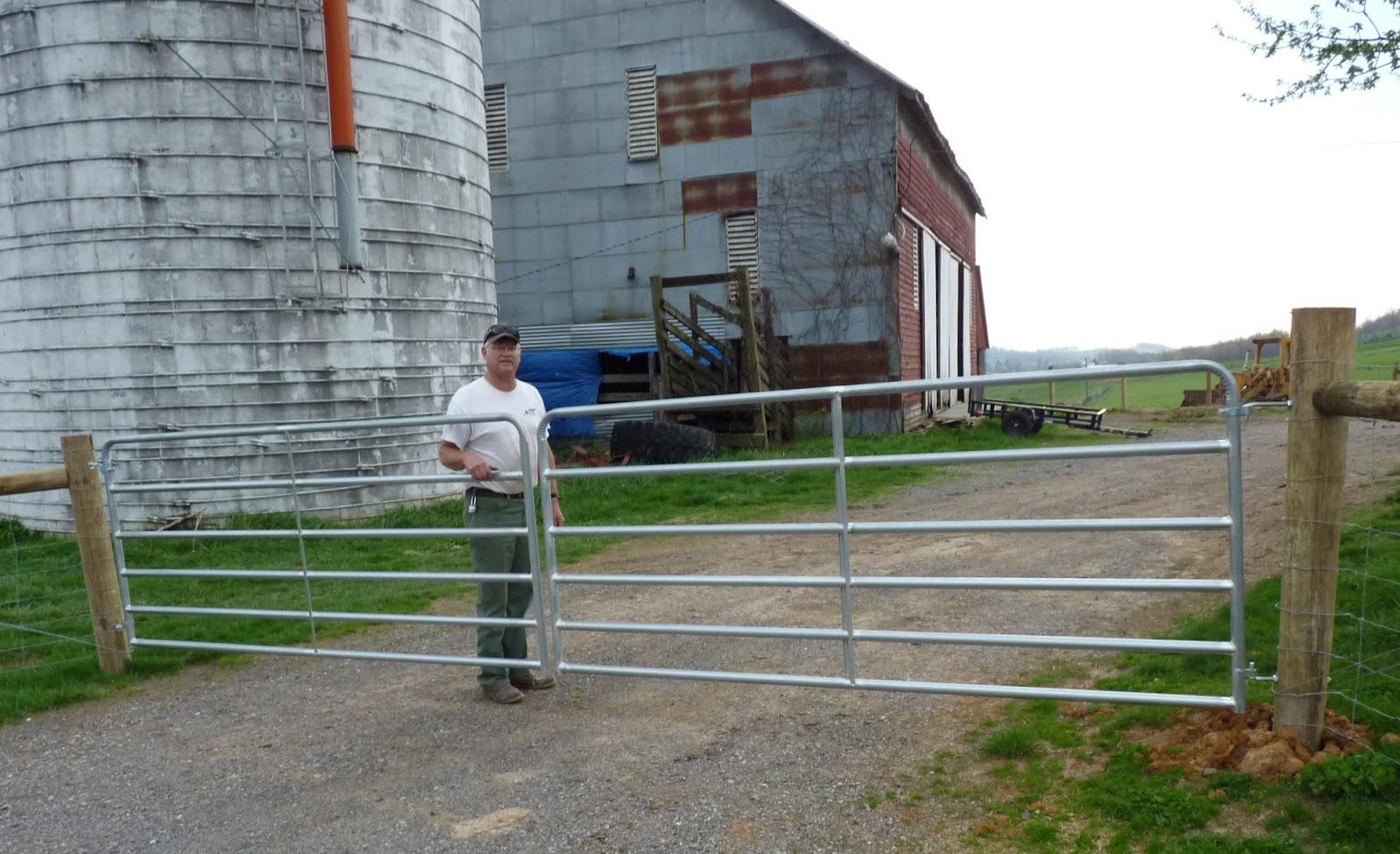 Mountain Glen Farm Journal Farm Gates