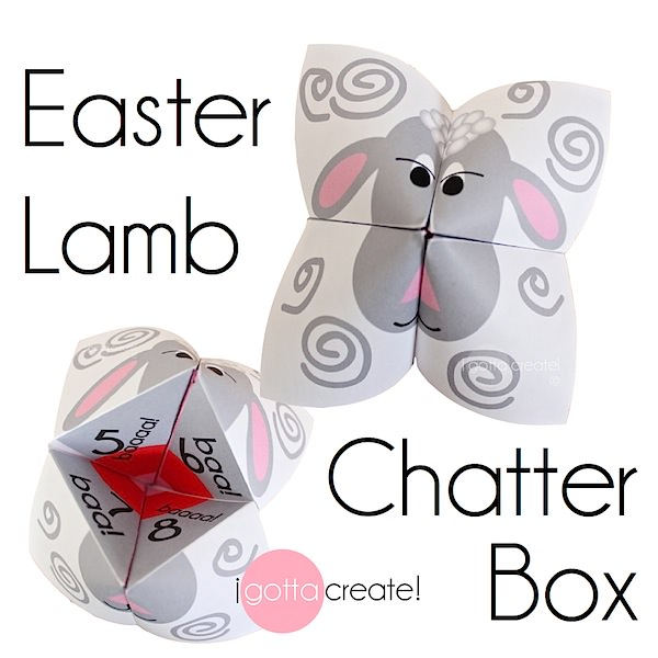 easter cootie catchers i gotta create easter chatterbox aka cootie 1916