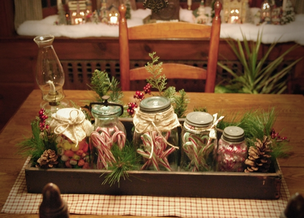 My Primitive Heart-Decorating Ideas \ more Christmas Around the - primitive christmas decorations