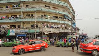 Apartment block in the autonomous district of Abidjan