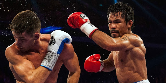 Boxeador Manny Pacquiao