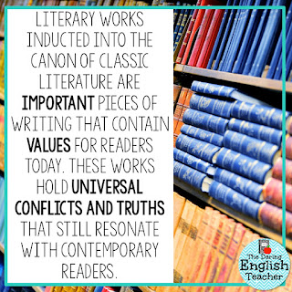 Why You Should Keep Classic Literature in Your Secondary English Language Arts Curriculum