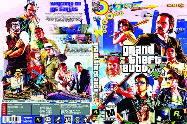 Capa Grand Theft Auto V PC