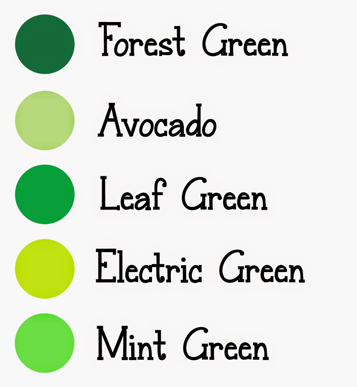 How to get green