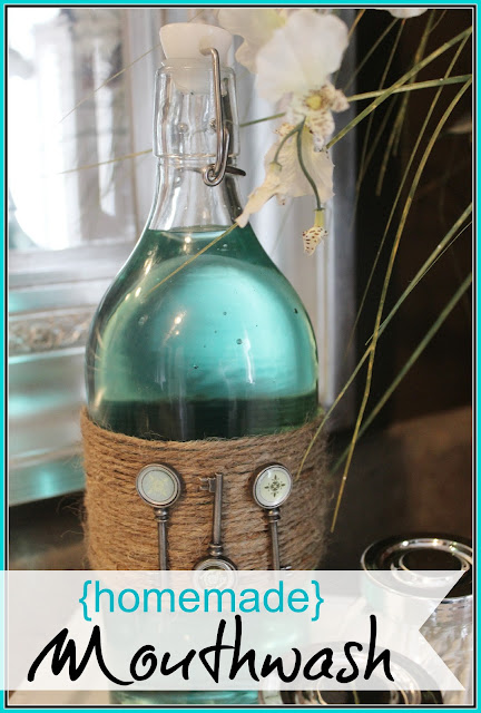 How to Make Homemade Mouthwash | The Everyday Home