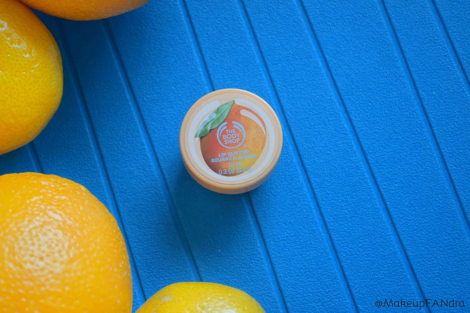 The body shop lip butter mango 1