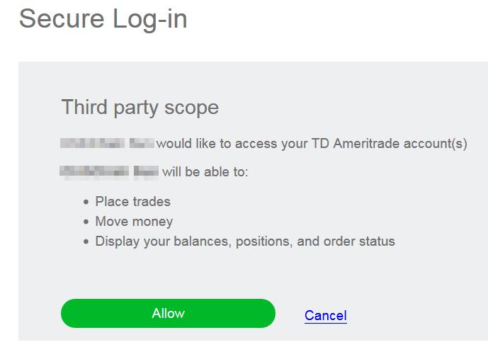TD] API 申請流程
