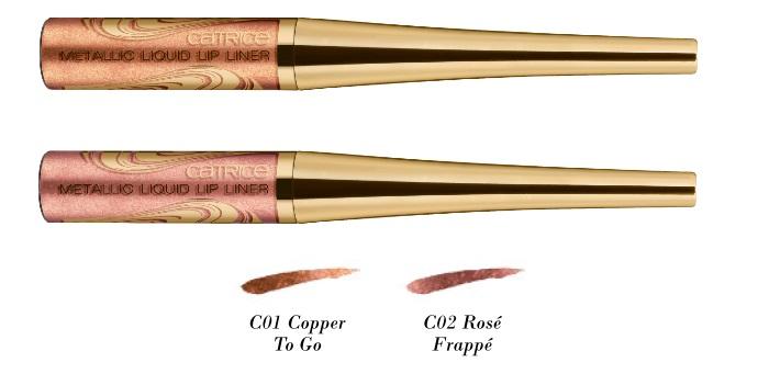 Catrice Blessing Browns Metallic liquid lip liner