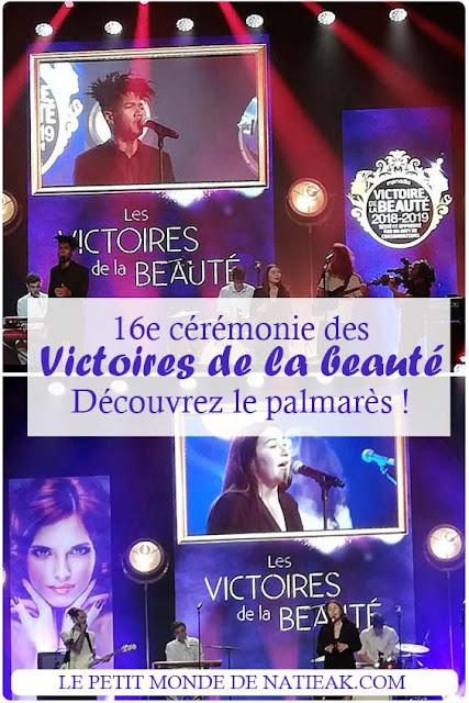 palmares des  Victoires de la beauté