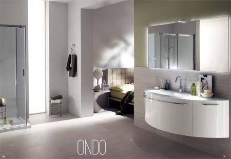 Arredamenti moderni bagni di design moderno da scavolini for Componenti d arredo moderni